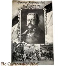 Militair Postkarte General-Feldmarschall v. Hindenburg, Ersturmung van Lodz