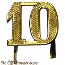 Shako nummer 10e Regiment Infanterie 1912-1916
