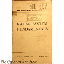 Manual TM 11-467  Radar system fundamentals 1944