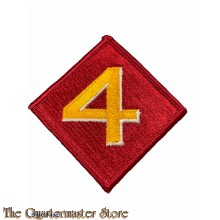 Mouw embleem 4e Marine Division (Sleeve patch 4th Marine Division)