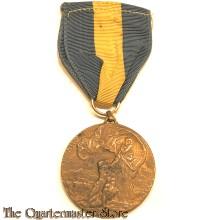 Italy - Medaglia della 1° Armata in bronzo. La Medaglia Commemorativa della 1° Armata fu coniata nel 1918 (1e Leger bronzen medaille. De 1e Leger Herinneringsmedaille)