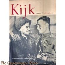 2 Maandelijks blad Kijk No 16, Wapenbroeders, ontmoeting van Rus en Amerikaan in Duitsland