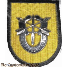 Beret flash 1 Special Forces Group (after murder of  Pres Kennedy)