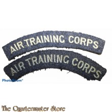 Shoulder flashes RAF Air Training Corps (A.T.C.)