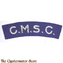 Shoulder title Corps of Military Staff Clerks (CMSC)