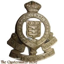 Cap badge Royal Army Ordnance Corps (Motto Scroll) 1947 - 1949