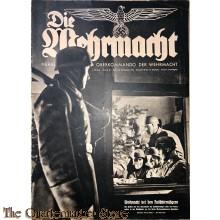 Magazine Die Wehrmacht 4e Jrg no 26,  18 dec 1940