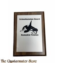 Wandschild Schoolbataljon Noord Remedial peleton