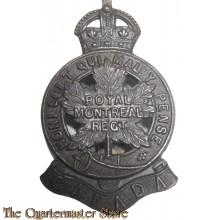 Cap badge WW1 Royal Montreal Regiment