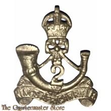 Cap badge 2nd Battalion Kings African Rifles Regiment