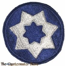 Mouwembleem 9th US Service Command (Sleeve badge 9th US Service Command)