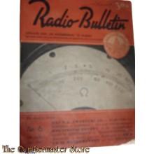 Radio Bulletin no 6 1945 de Muiderkring te Muiden