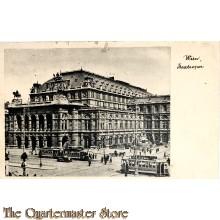 Postkart Wien Staatsoper  1942