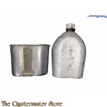 US Veldfles M1910 met cup (Canteen M1910 with cup)
