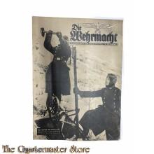 Magazine Die Wehrmacht 4e Jrg no 4 ,  14 febr 1940