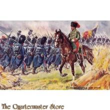 AnsichtKaart (Mil. Postcard) Belgian Grenadiers & Guide officer