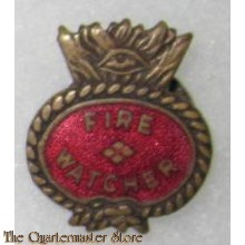 WW2 Fire Watcher, All Seeing Eye, Volunteer War Worker's Lapel Badge.