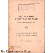 Manual  no 18 Notes from Theatres of War: Pacific