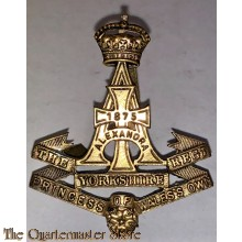 Cap badge The Princess of Wales Own Yorkshire Regiment