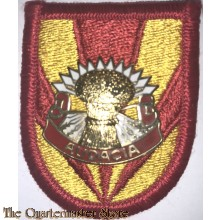 "Beret flash 4th (Airborne) Air Defence Artillery 3rd Bat ""Vulcan"""