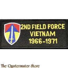 Patch 2nd field force Vietnam 1966-71