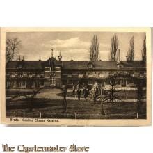 Prent briefkaart 1910 Breda. Cantine Chasse Kazerne