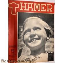 Maandblad de Hamer 4e jrg  no 1,  october 1943