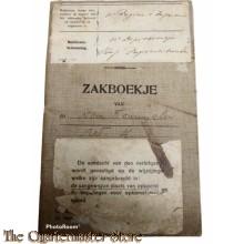 Oorlogszakboekje 11e Regiment Infanterie  11 Depot Batt