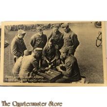 Prent briefkaart mobilisatie 1939 Ferme jongens, stoere knapen