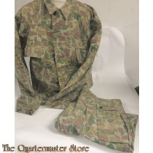 1951 Dutch Army spot camouflage pattern jacket and pants
