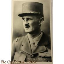 Postcard 1945 General Leclerc