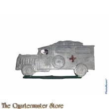 Pre 1940 Militaire Ambulance , tinnen speelgoed