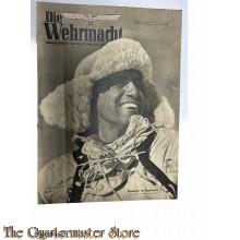 Magazine Die Wehrmacht 7e Jrg no 2,  13 jan 1943