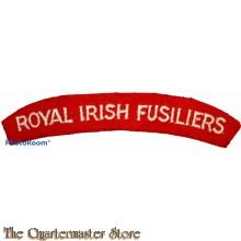 Shoulder flash Royal Irish Fusiliers