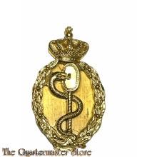 Brevet Hogere Militair-Geneeskundige Bekwaamheid (Officier-arts) (Badge medical Officer)