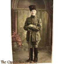 Studio portret (Zouave) Colonial soldier WW1
