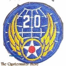 Mouwembleem 20th Air Force (Sleeve patch 20th Air Force)