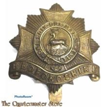 Cap badge Bedfordshire Regiment