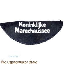 Straatnaam Koninklijke Marechaussee (halve maan)