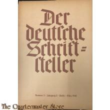 Der deutsche Schriftsteller No 3 März 1940