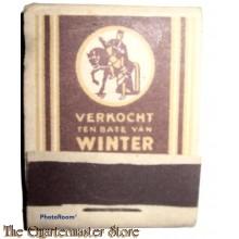 Belgium - Winterhulp lucifers Beek XVII (Matches Winterhelp Belgium Beek XVII)