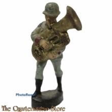 Wehrmacht Trombone muzikant ELASTOLIN  (German musician WW2)