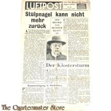 Flugblatt / Leaflet EH.510/XXV, Luftpost, Nr. 25, 5 nov 1941