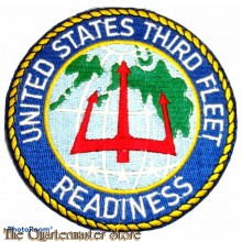 "Patch United States Third Fleet ""Readiness"""