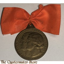 Medaille Prins Bernhard Prinses Juliana 7 Jan 1937