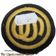Mouwembleem US Army Officers Candidate School OCS (Sleeve badge US Army Officers Candidate School OCS) 1950s