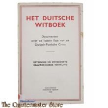 Het duitsche witboek 1939