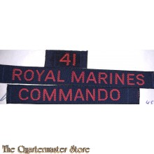 """Cash title"" 41st Royal marine Commando"