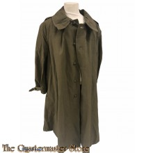 France - M35 Regulation French Army Cotton Canvas Overcoat cavalry/motorcycle