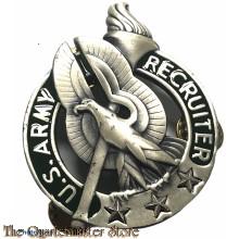 US Army Recruiter Identification Badge